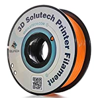 3D Solutech Real Orange 1.75mm ABS 3D Printer Filament 2.2 LBS (1.0KG) from 3D Solutech