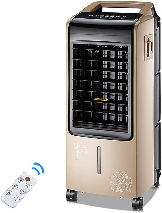 NBgy Aire Acondicionado Portátil, Hogar 3 En 1 Aire Acondicionado Portátil, Pequeño, Aire Acondicionado para Aire De Oficina, Aire Purificador, Dorado, 110 X 30 X 44cm: Amazon.es: Hogar