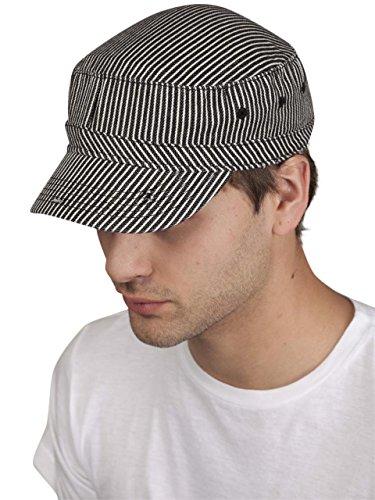 Basic Chino Twill Cap Hat - 4