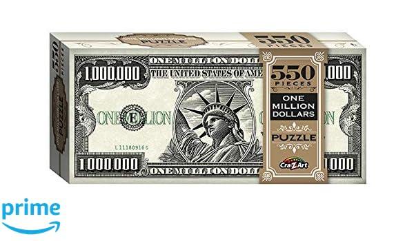 One Million Dollars 550 Piece Jigsaw Puzzle