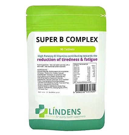 Súper Complejo Vitamina B w / 3-Probiótico PACQUETE 270 ...