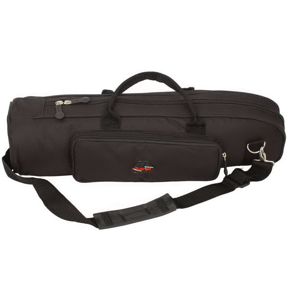 Glarry Senior Nylon Soft Trumpet Gig Bag Case Black GLA-8225