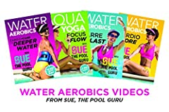 "Super best deal from Sue, the new go-to girl in Hi-Burn, belly-sculpting water exercise. Here's all 4 of her much-demanded Dvds so you can ""pour it on"" in BOTH deep water as well as chest-deep water. Video #1 of 4 is Sue's much-requested Card..."