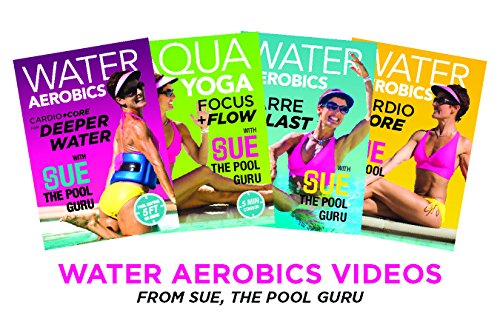 Gimme-the-Works Dvd 4-Pak: Water Aerobics w Sue, the Pool Guru