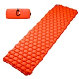 ZHF Ultralight Self Inflating Sleeping Pad Super Comfortable Air-Support Cells Design Great Quality for Backpacking Camping Travel and Hiking