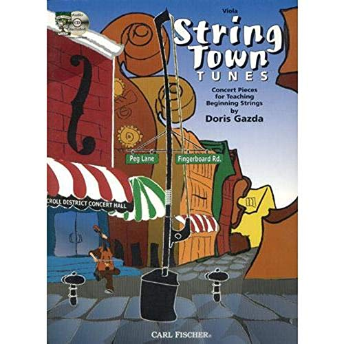 (Gazda, Doris - String Town Tunes - Viola - Book/CD set - Carl Fischer Edition)