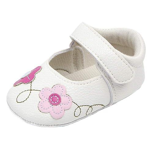 ALIKEEY Linda Baby Girls Recién Nacido Bebé Flor Primer Andador ...