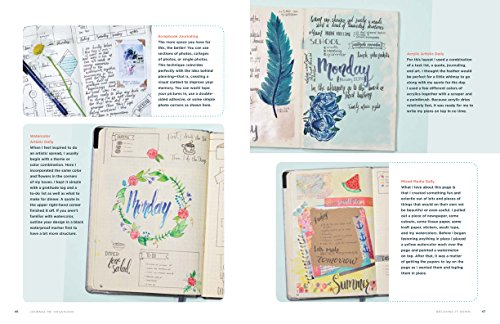 Journal Me Organized: The Complete Guide to Practical and Creative Planning by Get Creative 6 (Image #2)