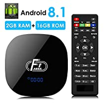 Android Box 8.1, DBNICE 2019 Model A95X F1 Android TV Box, Android Box 2GB RAM 16GB ROM Amlogic [Upgrade Version]