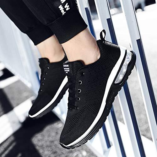 Volar Para 35 Negro Tejidos Con Logobeing Running Gimnasia Zapatos Calzado Zapatillas Net 41 Cojines Deportivas Estudiante De Deporte 5066 Mujer Aire Sneakers zxPxgB