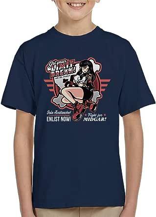 Cloud City 7 Get Your Limit Break Kid's T-Shirt
