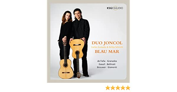 Blau Mar: Duo Joncol, Britta Schmitt & Carles Guisado: Amazon.es ...