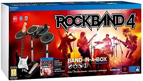 MAD CATZ RB491267ES02/01/1 Bundle: Rock Band 4 Band-in-a-Box ...