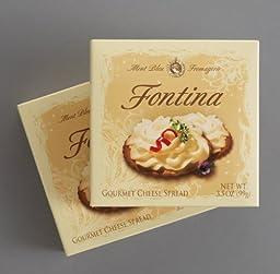 DAIRY FOODS Mont Bleu Fontina Gourmet Spread, 3.5 Ounce (Pack of 36)
