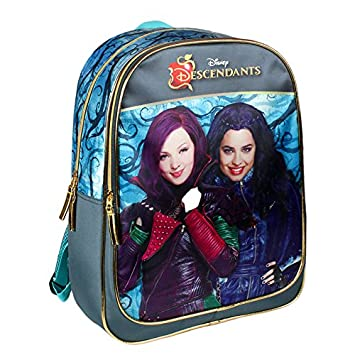 DISNEY-Mochila grande de descendientes descendientes 42 cm, color morado: Amazon.es: Equipaje