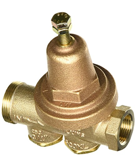 Zurn Wilkins Model 34-600XL 3/4'' Water Pressure Reducing Brass Valve with Integral By-pass Check Valve and Strainer, FNPT Union x FNPT, Lead Free by Wilkins (Image #1)