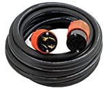 AC WORKS 10/4 NEMA L14-30 30Amp 125/250Volt Generator Rubber Extension Cord (100FT)