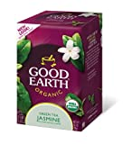 Good Earth Organic Jasmine Green Tea, 18-Count Tea Bags (Pack of 6)