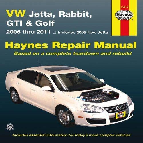 VW Jetta, Rabbit, GI, Golf Automotive Repair Manual: 2006-2011