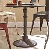 Oswego Round Bistro Table Bronze