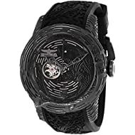 Men's 'S1 Rally' Automatic Stainless Steel and Silicone Watch, Color:Black (Model: 26426)