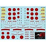 A-458 アシタのデカール 1/144 三菱A6M2b 零式艦上戦闘機二一型「トラ!トラ!トラ!-空母赤城-」