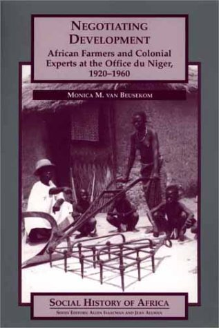 Negotiating Development (Studies in African Literature,)