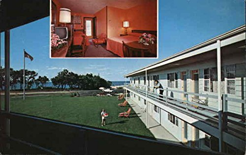 North Fork Motel Southold, New York NY Original Vintage Postcard