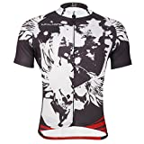 PaladinSport Men's Brown Short Sleeve Cycling Clothes Size L