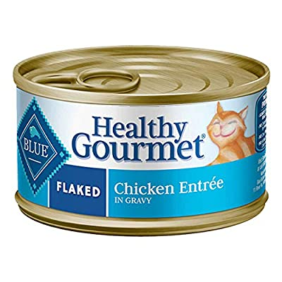Cat Food Blue Buffalo Healthy Gourmet Natural Adult Flaked Wet Cat Food [tag]