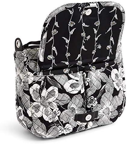 Vera Bradley Women's Signature Cotton Carson Shoulder Bag Crossbody Purse