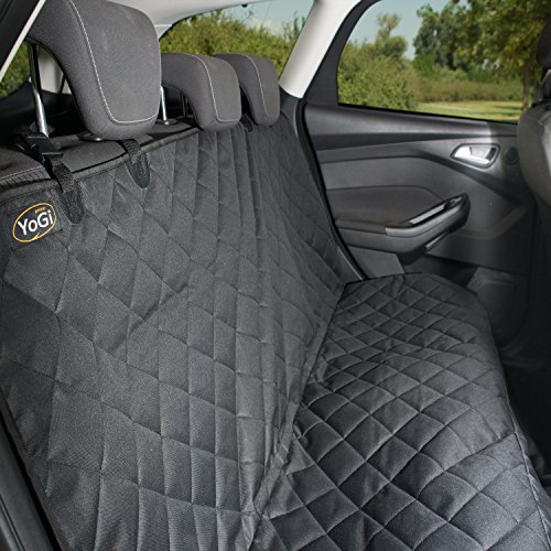 Luxury-Pet-Seat-Cover-for-cars-Machine-Washable-PADDED-QUILTED-Dog-Hammock-Style-Waterproof-Dog-Car-Seat-Cover-for-Trucks-SUVs-Non-Slip-Free-Bonus-Sticky-Roller-by-YoGi-Prime