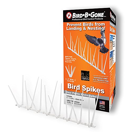 Bird B Gone Enviro-Spike Bird Spike, True 100-Feet, MADE IN