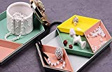 Plastic Stackable Geometric Jewelry Tray Versatile