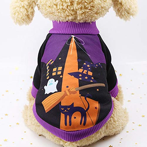 Dog Coats - Halloween Funny Pet Dog Costume Warm Cotton Dog Clothes for Small Dogs Chihuahua Pug Coat Jacket Puppy Cat Clothing Pet Products]()