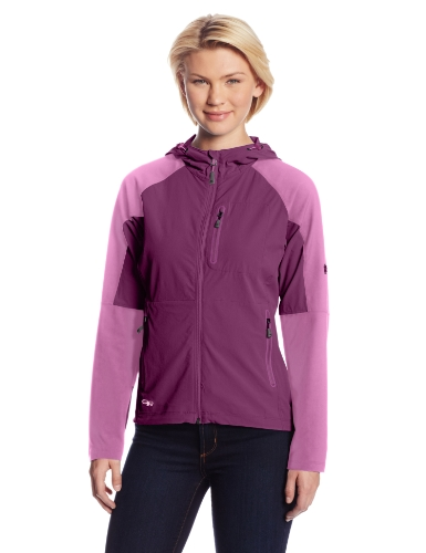 Outdoor Research Women's Ferrosi Hoody, Orchid/Crocus, Large