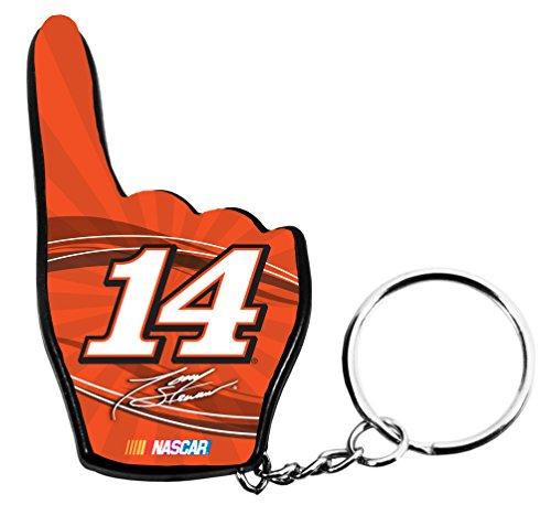 TONY STEWART KEY CHAIN-NASCAR #14 TONY STEWART KEYCHAIN WITH LED LIGHT NEW (Stewart Nascar Key)