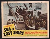"""MOVIE POSTER: Sea of Lost Ships 11""""x14"""" Lobby Card"""
