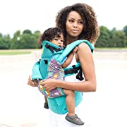 SIX-Position, 360° Ergonomic Baby & Child Carrier by LILLEbaby - The COMPLETE All Seasons (Lilly Pond)