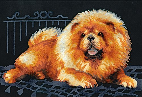 "RIOLIS 1216 - Chow Dog - Counted Cross Stitch Kit 15"" x 10"""