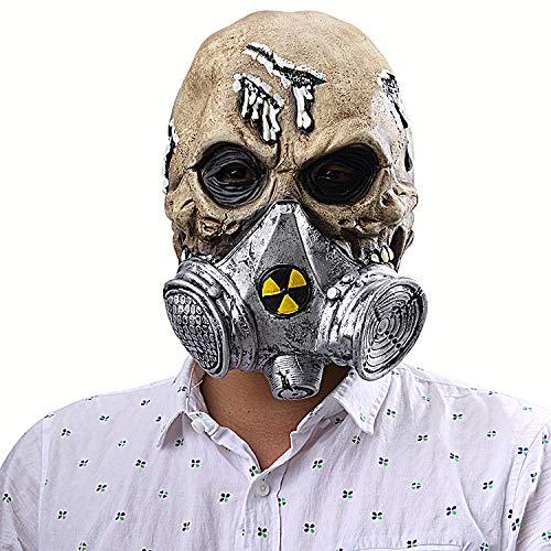 Halloween Horror Gas Mask Skull Mask Latex Mask]()