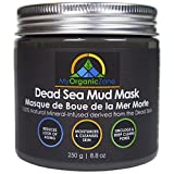 Dead Sea Mud Mask for Face and Body Deep Pore Cleansing, Acne Treatment, Anti Aging and Anti Wrinkle, Organic Natural Facial Mask for Smoother and Softer Skin (8.8oz./250g)