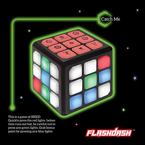 Flashing Cube Electronic Memory & Brain Game | 4-in-1 Handheld Game for Kids | STEM Toy for Kids Boys and Girls | Fun…