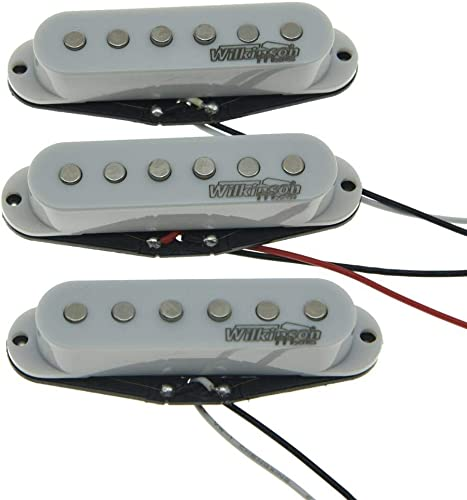 Wilkinson Lic White ST Strat Vintage Voice Single Coil Pickups