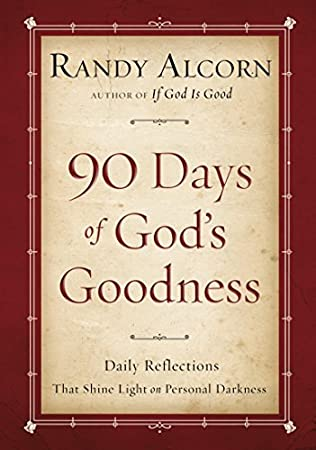 book cover of Ninety Days of God\'s Goodness