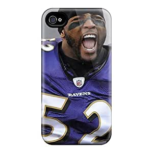 Durable Defender Cases For Iphone 6plus Covers(baltimore Ravens)
