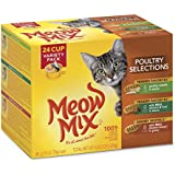 Meow Mix Poultry Selections Variety Wet Cat Food, 2.75-Ounce (pack of 24)