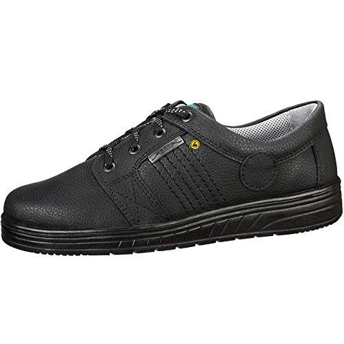 Abeba 32650-47 Air Cushion Chaussures à lacets ESD Taille 47 Noir