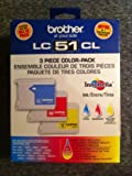 Brother Lc51cl 3 Piece Color-pack Innobella