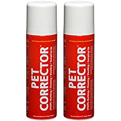 Pet Corrector – The Company of Animals – Bad Behavior and Training Aid - Quickly Stops Barking, Jumping, Digging, Chewing – Harmless and Safe- 200ml, Pack of 2